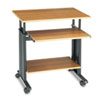 """Safco Adjustable Height Workstation - 22"""" Table Top Length x 29.50"""" Table Top Width x 19.75"""" Table T SAF1925MO"""