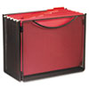 """<strong>Safco®</strong><br />Onyx Desktop Box File, Letter Files, 12.5"""" x 7"""" x 10"""", Black"""