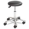 Safco® Height Adjustable Lab Stool, 13-1/2 dia. x 21h, Black SAF3434BL