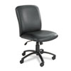 Safco® Uber Series Big & Tall Swivel/Tilt High Back Chair, Vinyl, Black SAF3490BV