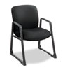 Safco® Uber Series Big & Tall Sled Base Guest Chair, Black SAF3492BL