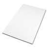 Safco® Drafting Table Top, Rectangular, 60w x 37-1/2d, White SAF3948
