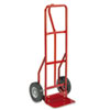 Safco® Two-Wheel Steel Hand Truck, 500lb Capacity, 18w x 47h, Red SAF4084R
