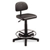 Safco® TaskMaster Series EconoMahogany WorkBench Chair, Black SAF5110