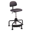 Safco® TaskMaster Series EconoMahogany Industrial Chair, Black SAF5117