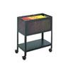 Safco® Steel Mesh Open Top Tub File, 13-1/2w x 24-1/4d x 27-1/2h, Black SAF5350BL