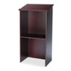 Safco® Stand-Up Lectern, 23w x 15-3/4d x 46h, Mahogany SAF8915MH