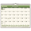 AT-A-GLANCE® Recycled Wall Calendar, 15 x 12, 2017 AAGPMG7728