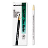 Sharpie® Peel-Off China Markers, White, Dozen - 2060