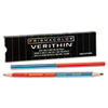 Verithin Double-Ended Colored Pencils, Blue/Red, Dozen