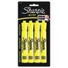Sharpie® Accent Tank Style Highlighter, Chisel Tip, Fluorescent Yellow, 4/Set SAN25164PP