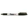 Sharpie Resilient Tip Permanent Marker - Fine Point Type - Black Alcohol Based Ink - 1 Each SAN30051