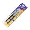 uni-ball® Refill for uni-ball Vision Elite Roller Ball, Bold, One each Blue, Black SAN61234PP