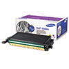 Samsung CLPY660A Toner, 2000 Page-Yield, Yellow SASCLPY660A