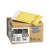 Jiffylite Self Seal Mailer, #000, 4 x 8, Golden Brown, 25/Carton