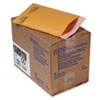 Jiffylite Self Seal Mailer, #00, 5 x 10, Golden Brown, 25/Carton