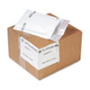 TuffGard Self-Seal Cushioned Mailer, #000, 4 x 8, White, 25/Carton