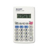 <strong>Sharp®</strong><br />EL233SB Pocket Calculator, 8-Digit LCD