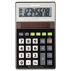 EL-R277BBK Recycled Series Handheld Calculator, 8-Digit LCD