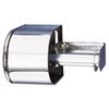 Covered Reserve Roll Toilet Dispenser, 10 x 6 1/4 x 6, Chrome