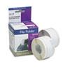 Seiko Self-Adhesive File Folder Labels, 9/16 x 3-7/16, White, 260/Box SKPSLPFLW