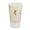 Hot Cups, Symphony Design, 16oz, Beige, 1000/Carton