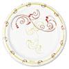 "SOLO® Cup Company Symphony Paper Dinnerware, Mediumweight Plate, 6"", Tan, 1000/Carton SCCMP6J8001CT"