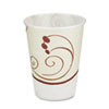 Symphony Design Trophy Foam Hot/Cold Drink Cups, 10oz, 60/Pack, 25 Packs/Carton