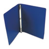 "ACCO ACCOHIDE Poly Round Ring Binder, 23-pt. Cover, 1/2"" Cap, Dark Blue ACC39702"