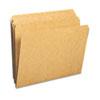 Smead® Kraft File Folders, Straight Cut, Reinforced Top Tab, Letter, Kraft, 100/Box SMD10710