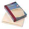 Smead® File Folders, Straight Cut, One-Ply Top Tab, Legal, Manila, 100/Box SMD15300