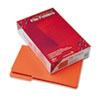 Smead® File Folders, 1/3 Cut, Reinforced Top Tab, Legal, Orange, 100/Box SMD17534