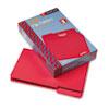 Smead® File Folders, 1/3 Cut Top Tab, Legal, Red, 100/Box SMD17743
