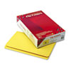 Smead® File Folders, Straight Cut, Reinforced Top Tab, Legal, Yellow, 100/Box SMD17910