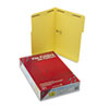 Smead® Folders, Two Fasteners, 1/3 Cut Assorted, Top Tab, Legal, Yellow, 50/Box SMD17940