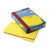 Smead® File Folders, 1/3 Cut Top Tab, Legal, Yellow, 100/Box SMD17943
