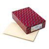 Smead® Folders, Straight Cut, Single-Ply Extended End Tab, Legal, Manila, 100/Box SMD27250