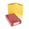 Smead® Two-Inch Capacity Fastener Folders, Straight Tab, Legal, Yellow, 50/Box SMD28940