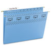 Smead® Tuff Hanging Folder with Easy Slide Tab, Letter, Blue, 18/Pack SMD64041
