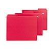 Smead® FasTab Hanging File Folders, Letter, Red, 20/Box SMD64096