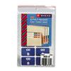 Smead® Alpha-Z Color-Coded Second Letter Labels, Letter B, Dark Blue, 100/Pack SMD67172