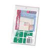 Smead® Alpha-Z Color-Coded Second Letter Labels, Letter C, Dark Green, 100/Pack SMD67173