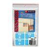 Smead® Alpha-Z Color-Coded Second Letter Labels, Letter D, Light Blue, 100/Pack SMD67174