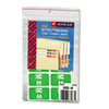 Smead® Alpha-Z Color-Coded Second Letter Labels, Letter M, Light Green, 100/Pack SMD67183