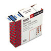 Smead® Single Digit End Tab Labels, Number 6, Blue, 500/Roll SMD67376