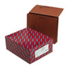 "Smead Redrope Expanding Wallets with Elastic Cord - Letter - 8 1/2"" x 11"" Sheet Size - 3 1/2"" Expans SMD71105"