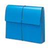"""Smead® Extra-Wide 5 1/4"""" Exp Wallets, 12 3/8 x 10, Navy Blue SMD71122"""