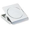 "ACCO Magnetic Clip, Metal, 1 1/8"" Cap, Large, 2 1/4""w, Chrome ACC72133"