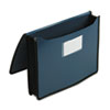 "Smead® Poly Premium Wallets, 5 1/4"" Exp, Letter, Navy Blue SMD71503"