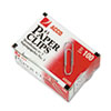 ACCO Smooth Standard Paper Clip, #3, Silver, 100/Box, 10 Boxes/Pack ACC72320